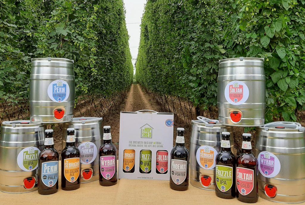 The Hop Shed Brewery Beer Range Among The Hops