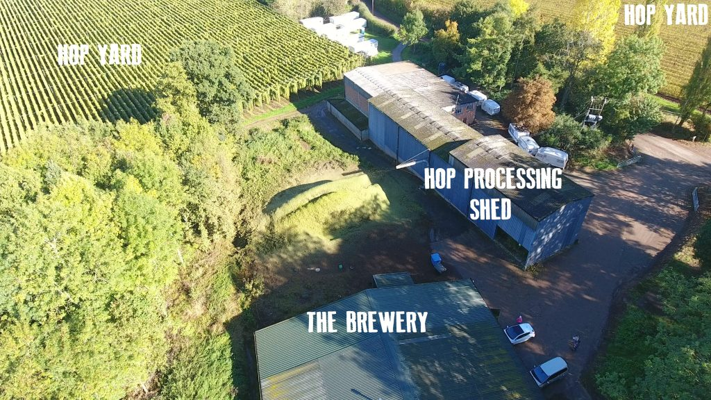 The Brewery on a Hop Farm The Hop Shed