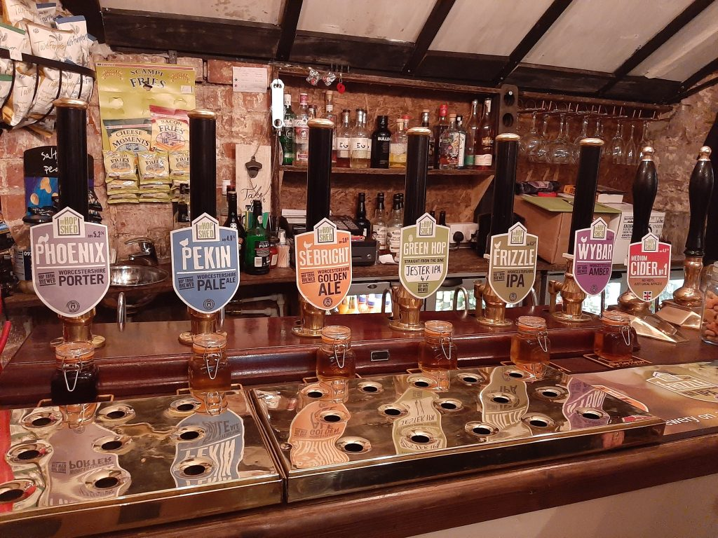 The Hop Shed Take Over of The Tap House in Ross on Wye