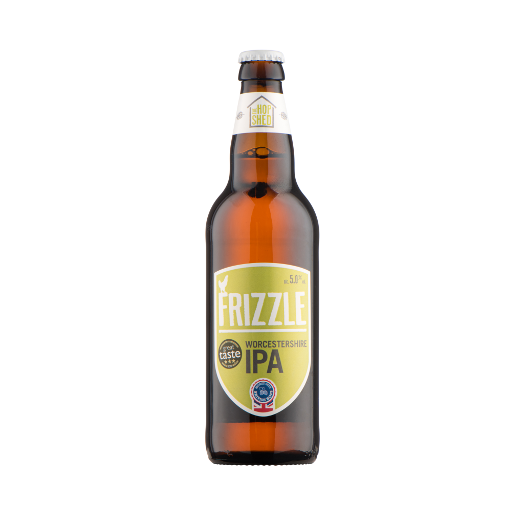 Our Beers The Hop Shed Brewery Frizzle IPA Bottled Beer Square image