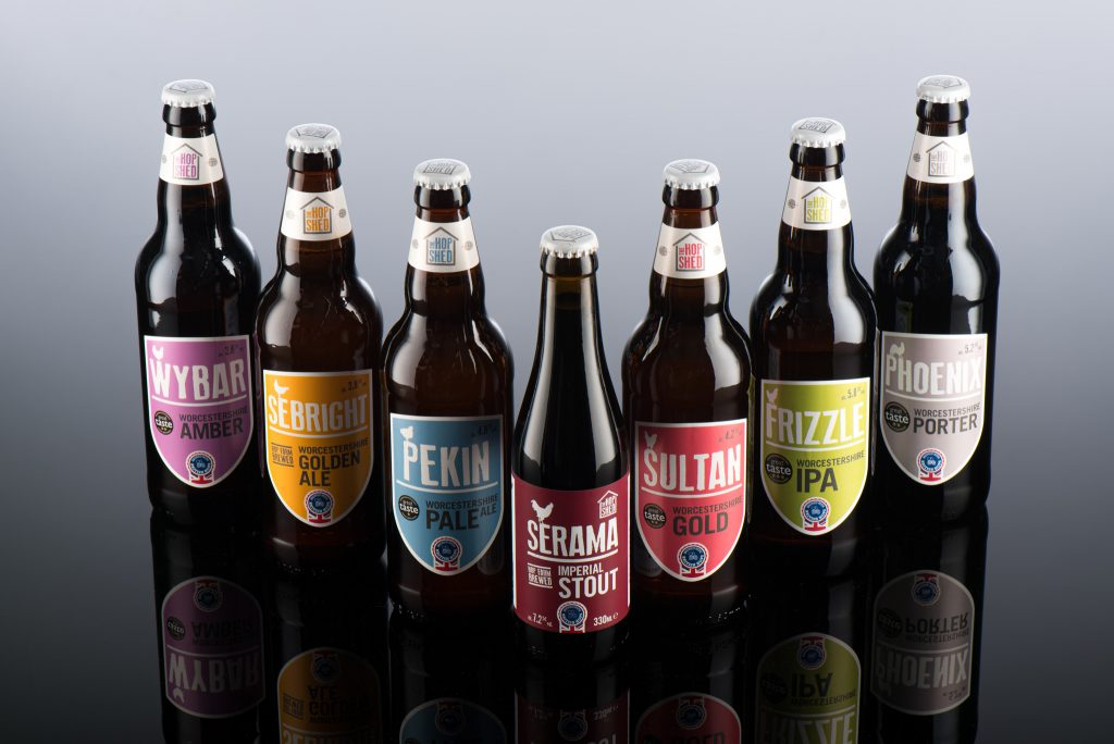 Our Beers The Hop Shed Brewery bottled beer range 2020